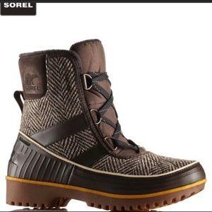 sorel tívoli boots size 9 like new